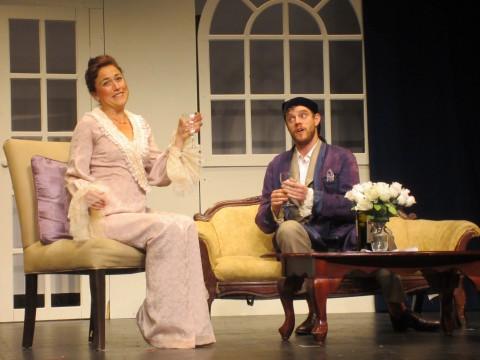 Kirsten Th.Leslie & Steven Soph »Die Fledermaus« Town Hall Theatre, Middlebury © Boving