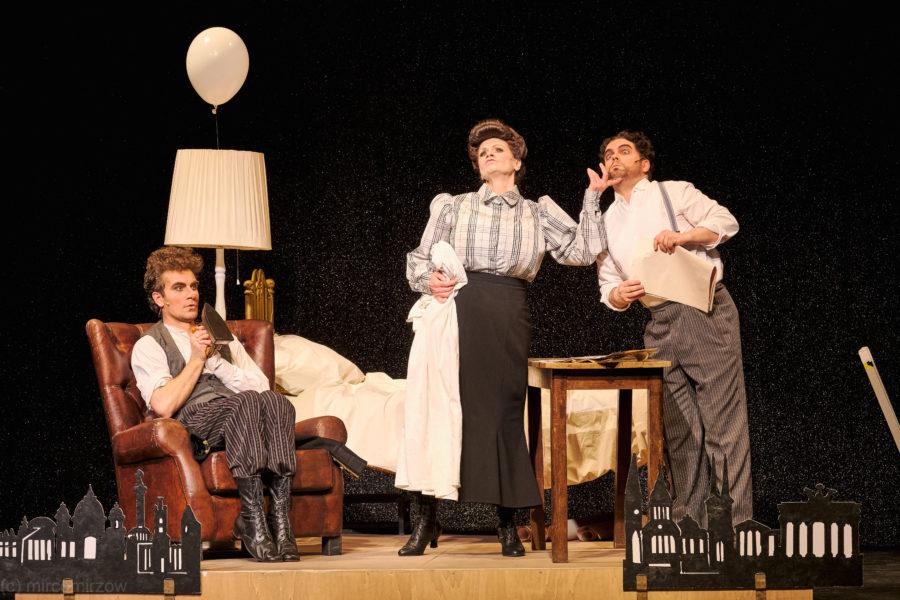 Volkstheater Rostock »Frau Luna« (Foto: Mirco Dalchow)
